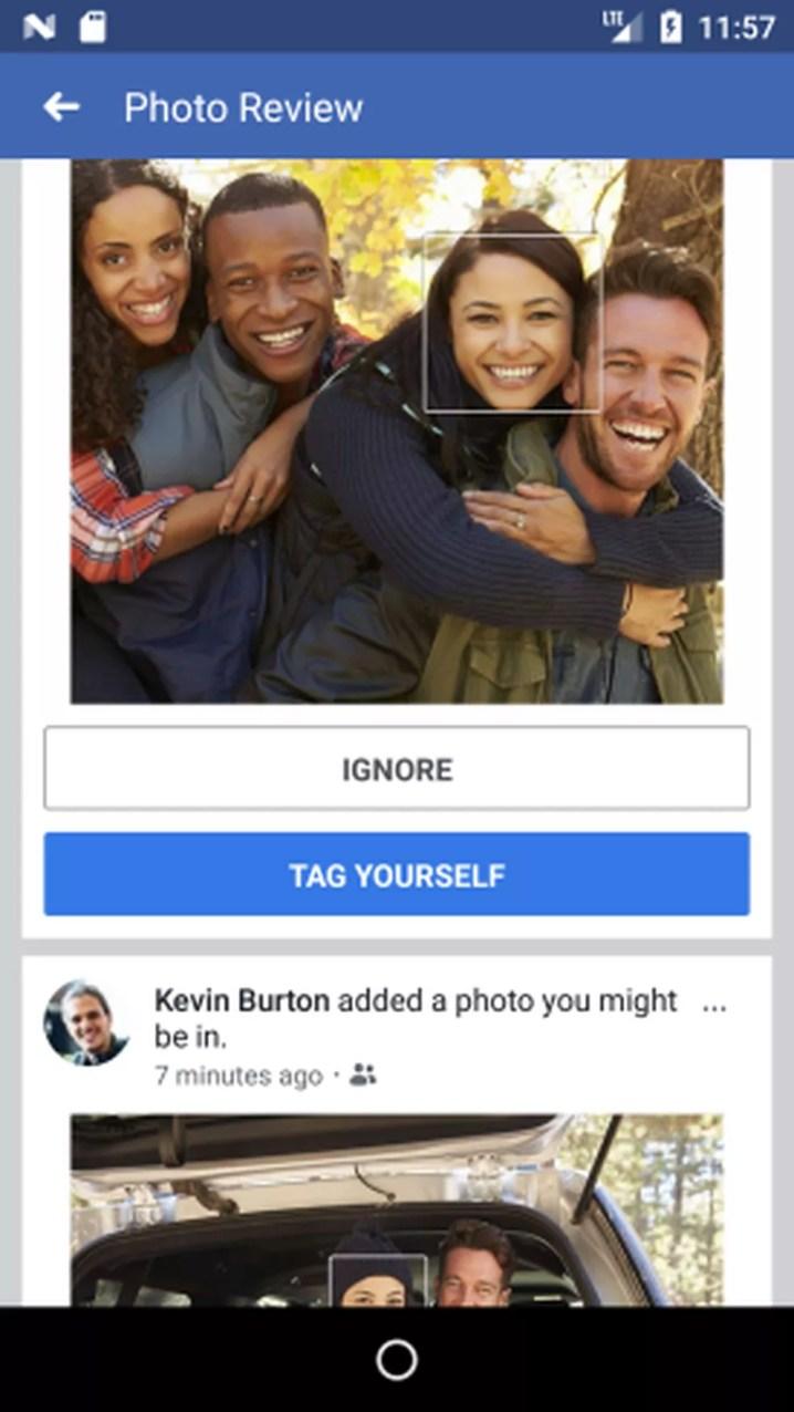 Tecnologia de reconhecimento de rosto é a mesma utilizada para sugerir marcações no Facebook (Foto: Divulgação)