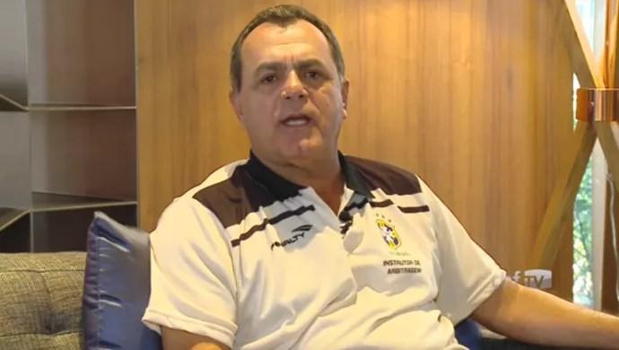 Manoel Serapião Filho, diretor técnico da Enaf (Foto: Reprodução/CBF TV)