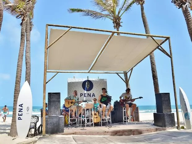 Espaço Ao Vivo Rádio Beach Park (Foto: Divulgação)
