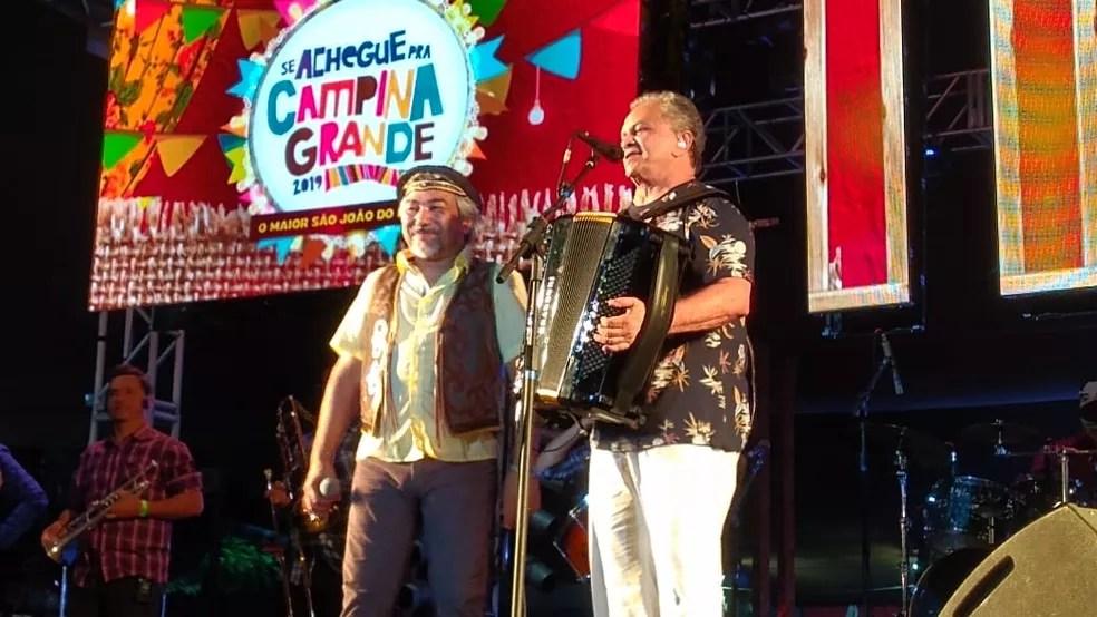 santanna-e-flavio-jose Flávio José faz 71 anos, relembra carreira e fala sobre retorno de shows; 'não vamos nos avexar'