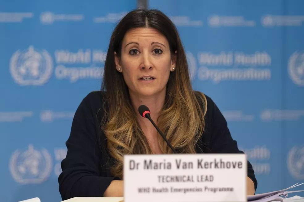 Maria van Kerkhove, líder técnica do programa de emergências da OMS — Foto: Christopher Black/OMS