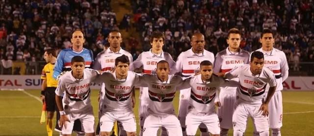 Time São Paulo posado (Foto: Rubens Chiri / saopaulofc.net)