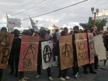 Protesto no Recife. (Foto: Luna Markman/G1)