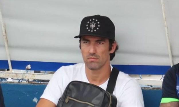 Leandro Kível se recupera de uma torção no tornozelo (Foto: Denison Roma/GloboEsporte.com)
