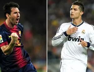 Lionel Messi Barcelona Cristiano Ronaldo Real Madrid (Foto: AFP)