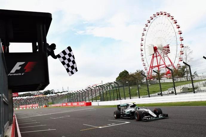 Nico Rosberg vence o GP do Japão de Fórmula 1 de 2016 (Foto: Getty Images)