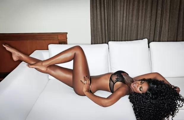 Cris Vianna na 'VIP' (Foto: Daniel Aratangy/Revista VIP)