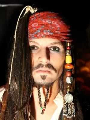 Johnny Depp (Foto: Divulgação/ Dreamland - Museu de Cera)