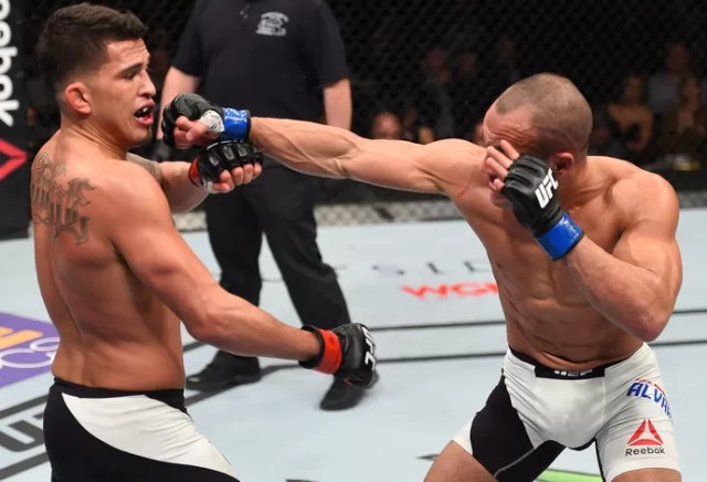 Eddie Alvarez e Anthony Pettis, UFC Boston (Foto: Getty Images )