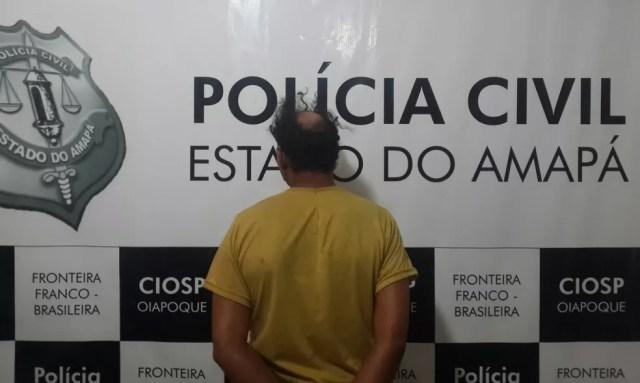 Suspeito de estupro cumpre pena no Iapen (Foto: Divulgação/Polícia Civil)