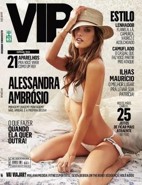 Alessandra Ambrósio (Foto: Reprodução)