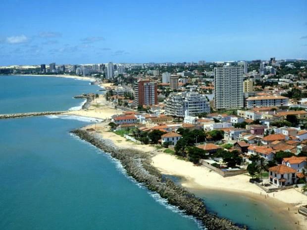 Vista aérea de Fortaleza, no Ceará (Foto: Sergio Jorge Brazil / TIPS / Photononstop/AFP)