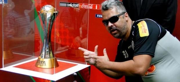 taça troféu mundial de clubes torcida atlético-mg (Foto: Gabriel Duarte)