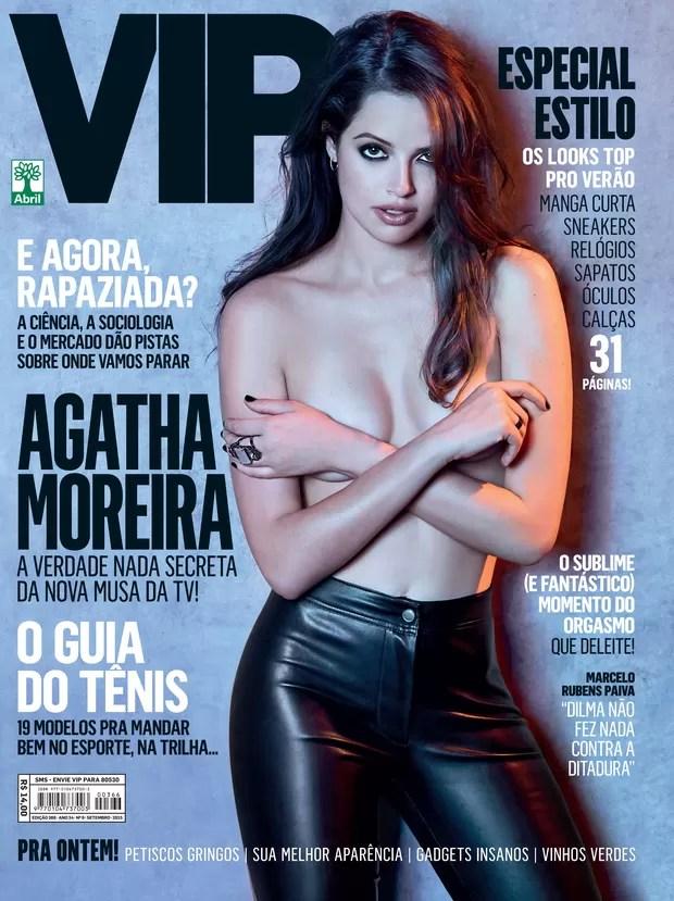 Agatha Moreira na VIP (Foto: Yuri Sardenberg/ VIP)