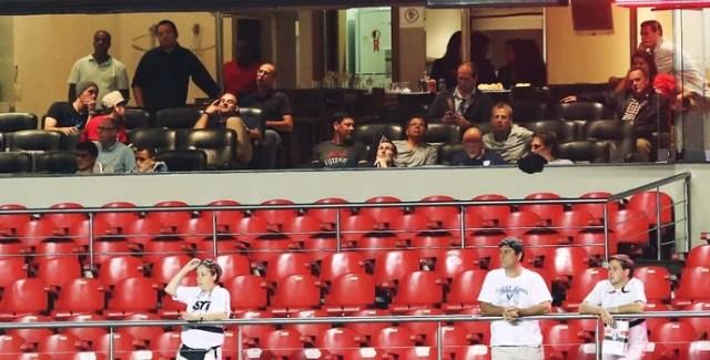 Seleção dos Estados Unidos no Morumbi (Foto: Rubens Chiri / saopaulofc.net)