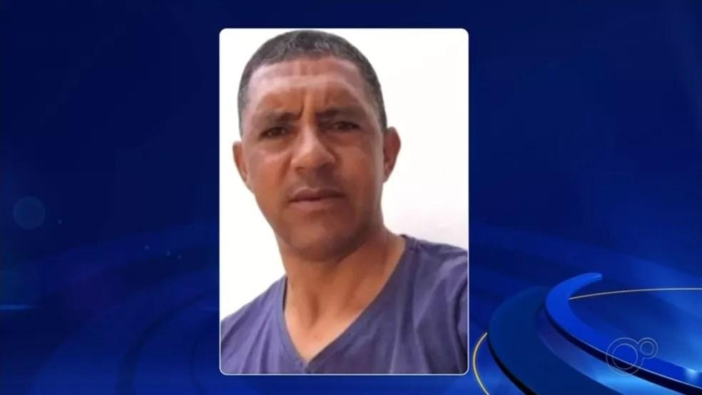 Márcio Roberto Rodrigues, de 45 anos, suspeito de agredir funcionária de padaria em Palmares Paulista após pedido para usar a máscara — Foto: Reprodução/TV TEM