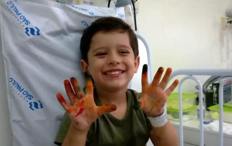 O menino Joaquim Ponte Marques foi encontrado morto após desaparecer da casa onde morava em Ribeirão Preto — Foto: Reprodução