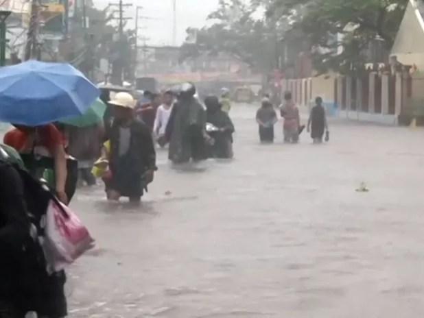 Passagem de tufão mata pelo menos 21 pessoas nas Filipinas - GNews (Foto: Reprodução/GloboNews)