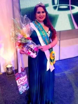 Candidata de Guaramiranga vai representar a região no Miss Plus Size Brasil (Foto: Divulgação)