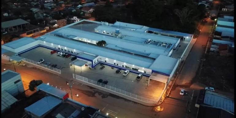 Hospital Municipal Sandoval Araujo Dantas (Foto: Prefeitura de Jaru/Divulgação)