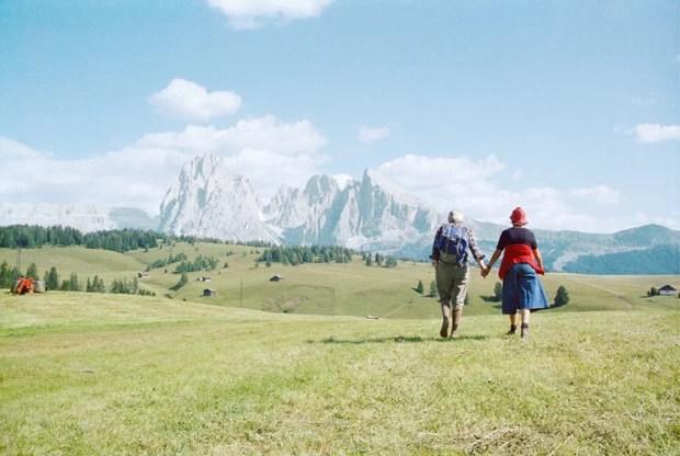 Alpe di Siusi, 1979 (Foto: Courtesy Fototeca Biblioteca Panizzi, Reggio Emilia)