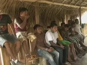 Ministério da Saúde já registrou a morte de sete crianças indígenas por surto de gripe em Altamira.  (Foto: Reprodução/TV Liberal)