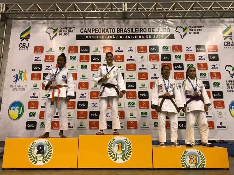 Judocas sergipanos se destacaram em Brasileiro (Foto: Euder Lima)