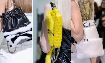As bolsas da Versace, inverno 2014 (Foto: Reprodução)