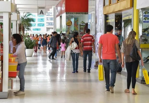 consumo; shopping; varejo (Foto: Valter Campanato/Agência Brasil)