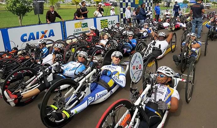 Copa Brasil de Paraciclismo (Foto: Jairo Vieira/FSC)