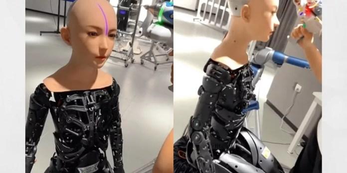Robô da DS Robotics impresso em 3D pela empresa — Foto: Reprodução/ SexTech