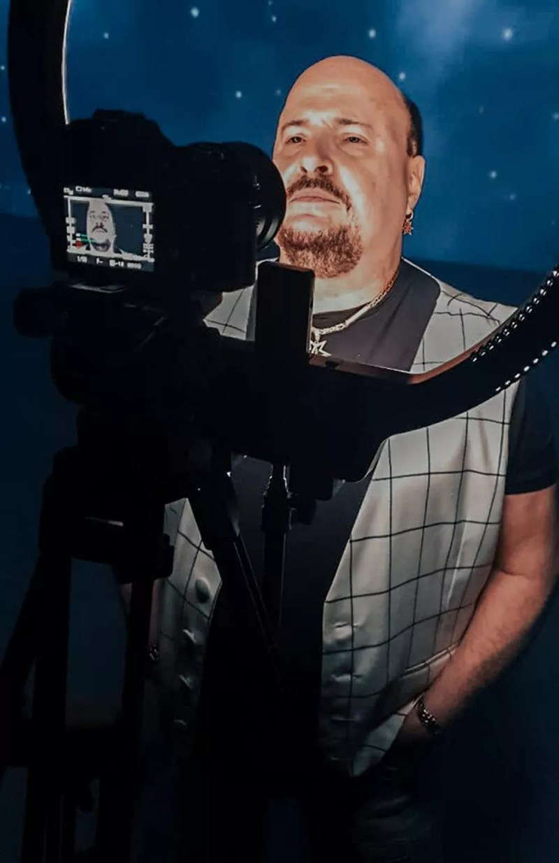 Paulinho, vocalista e percussionista do grupo Roupa Nova, morre aos 68 anos no Rio de Janeiro — Foto: Reprodução / Facebook Roupa Nova