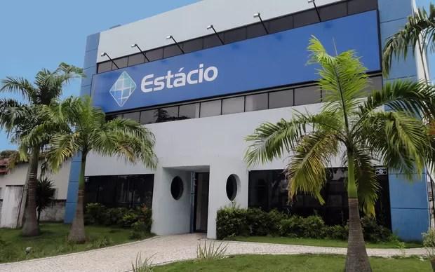 Fachada da Faculdade Estácio em Natal, no Rio Grande do Norte (Foto: Fachada da Faculdade Estácio em Natal, no Rio Grande do Norte)