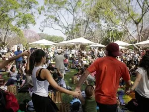 SÁBADO 30 - Evento ocorreu durante Virada Sustentável, no Parque do Ibirapuera (Foto: Fernando Pilatos)