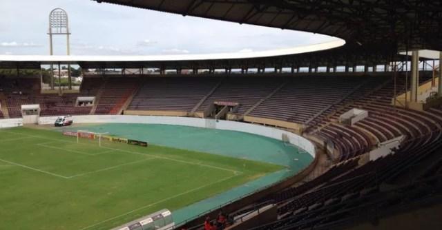 Arena da Fonte Luminosa em Araraquara (Foto: Fernanda Câmara/EPTV)