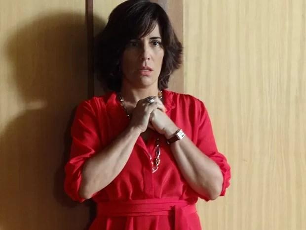 Roberta fica arrasada com o papo entre Otávio e Felipe (Foto: Guerra dos Sexos / TV Globo)
