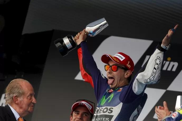 2015-05-03t132420z_560757112_gf10000082472_rtrmadp_3_motorcycling-prix-spain_1 - Lorenzo encerra jejum com vitória de ponta a ponta; Rossi é 3º e lidera