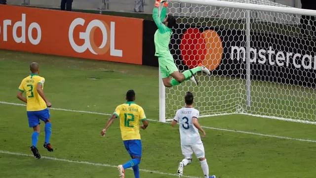 Alisson Brasil Argentina