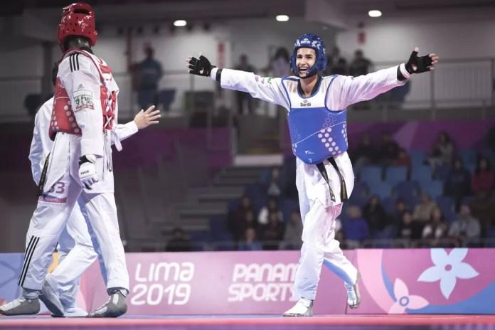 """Edival """"Netinho"""" Marques é ouro no taekwondo - Pan de Lima 2019 — Foto: Jonne Roriz/COB"""