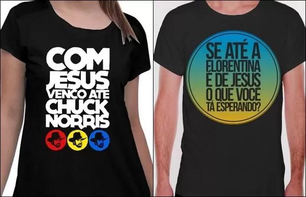 Em Goiânia, Goiás, pastor que 'cheirou' bíblia diz: 'Se não for radical, não toca o jovem' camisas (Foto: Divulgação/Site oficial)