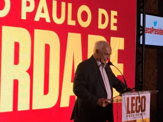 Leco Lançamento Candidatura Presidente (Foto: Alexandre Lozetti)