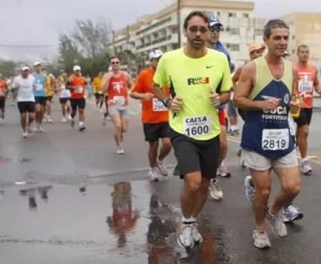 Foto de Jorge William (Foto: No km 2 da Maratona)