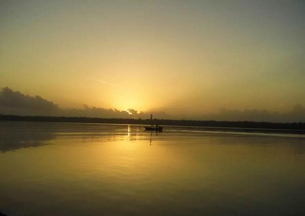 Por do Sol em Viseu é um dos mais bonitos do Pará.  (Foto: Adenilton Costa/ Arquivo Pessoal)