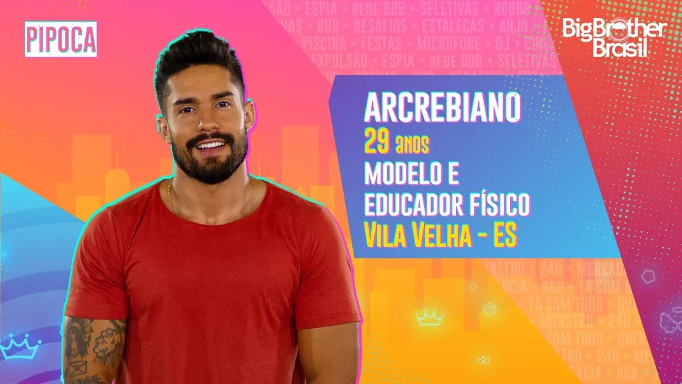 Arcrebiano, BBB21 — Foto: Globo