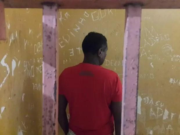 Avô suspeito de abusar do neto de 6 anos foi preso em Oiapoque, no AP (Foto: Divulgação/Polícia Civil)