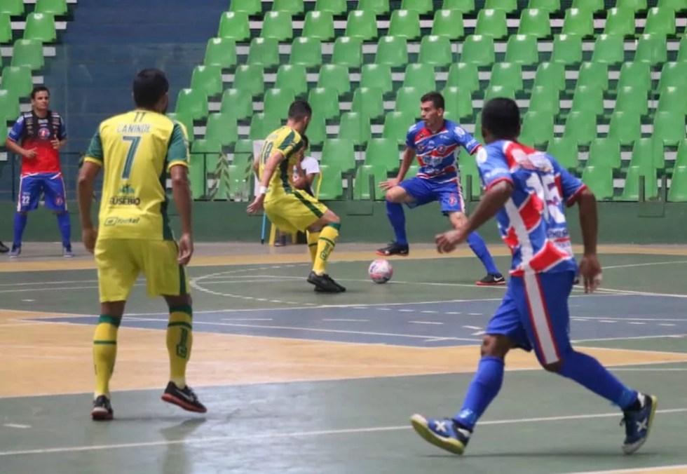 Itabaiana x Eusébio-CE - Copa Nordeste de Futsal 2019 — Foto: Felipe Soares