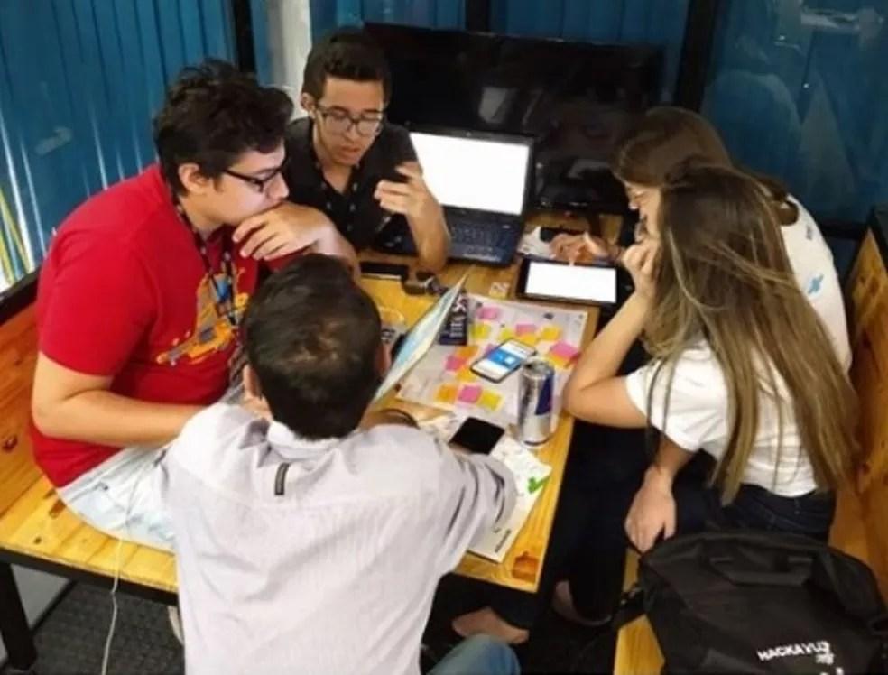 Empreendedores que atuam em parceria com a ITCG participaram de uma maratona de inovações voltada ao turismo na PB — Foto: Sebrae-PB/Divulgação