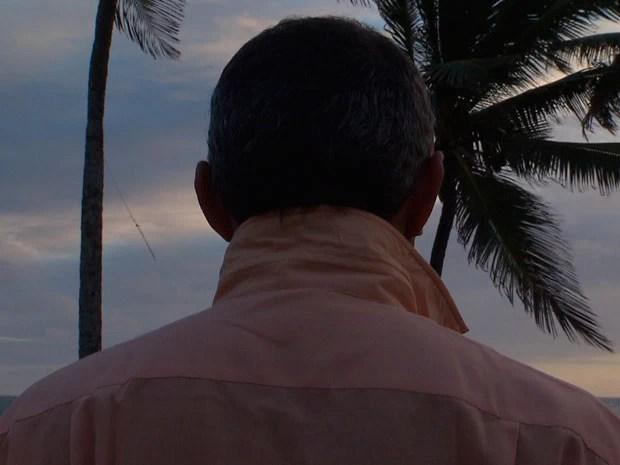Testemunha de acidente que resultou na morte de dois irmãos em Salvador, na Bahia (Foto: Imagem/G1)