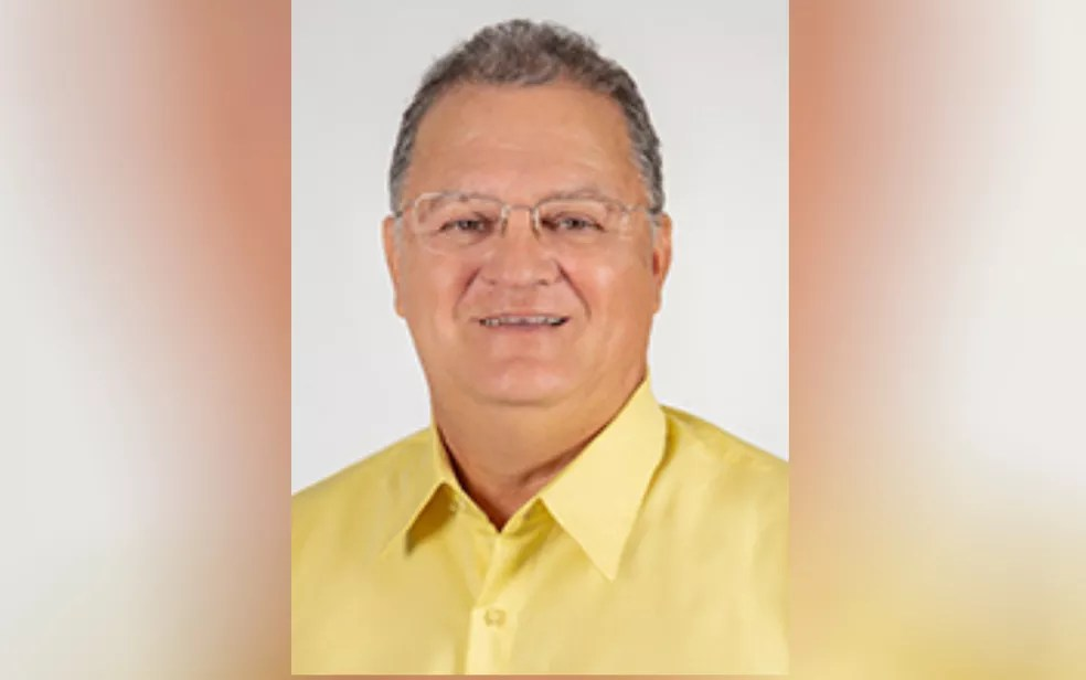 Didi Filgueira (PTB), morreu um dia após ser eleito prefeito de Itaguaru — Foto: Reprodução/TSE
