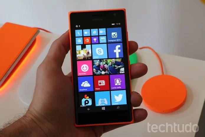 Lumia-730-home (Foto: Fabrício Vitorino/TechTudo)